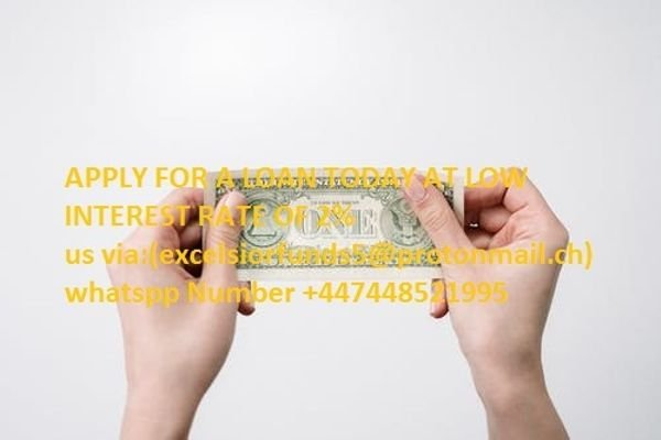 ARE YOU IN NEED OF AN URGENT LOAN AT AN AFFORDABLE RATE IF YES APPLY NOW AT LOW INTEREST R
