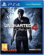 Cd ps4 uncharted 4
