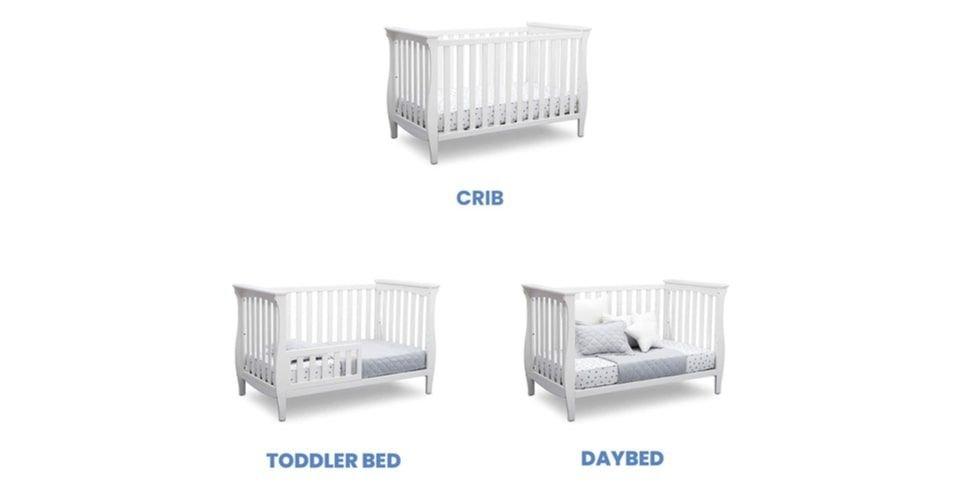 سرير أطفال قابل للتحويل