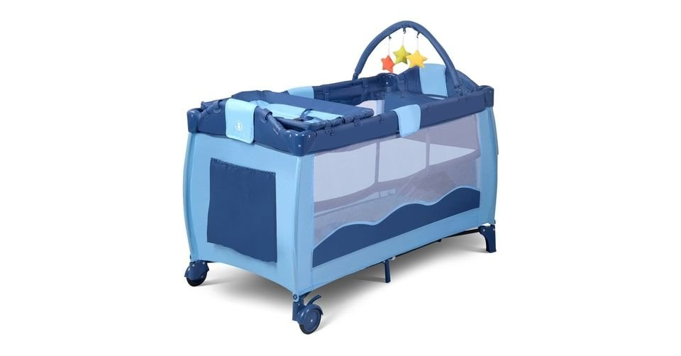 سرير أطفال متنقل أو قابل للطي