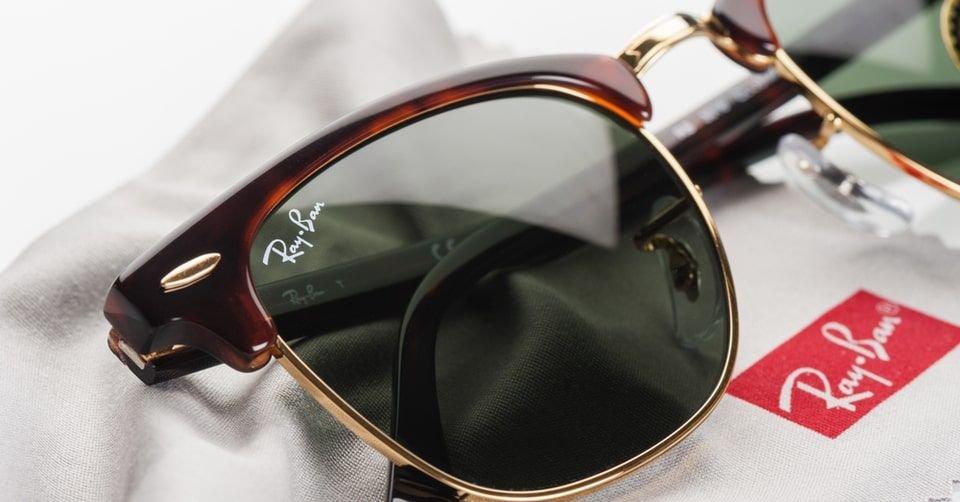 نظارة شمسية ماركة ريبان (Ray-Ban)