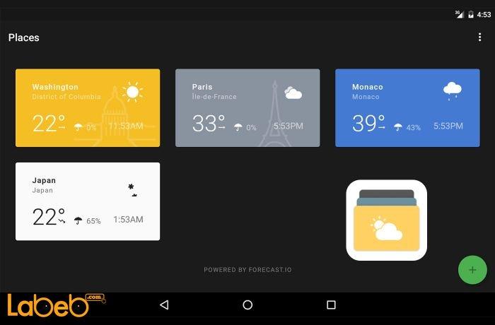صورة تطبيق Weather Timeline