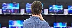 كيف تختبر تلفازاً في مركز البيع؟