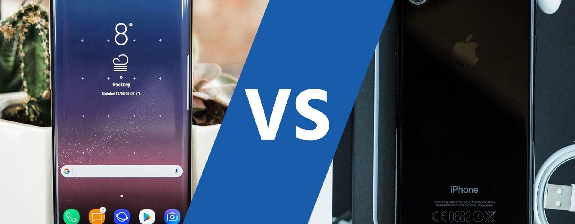 تعتبر هواتف سامسونج وأبل أفضل الهواتف الذكية الموجودة في هذا الوقت.