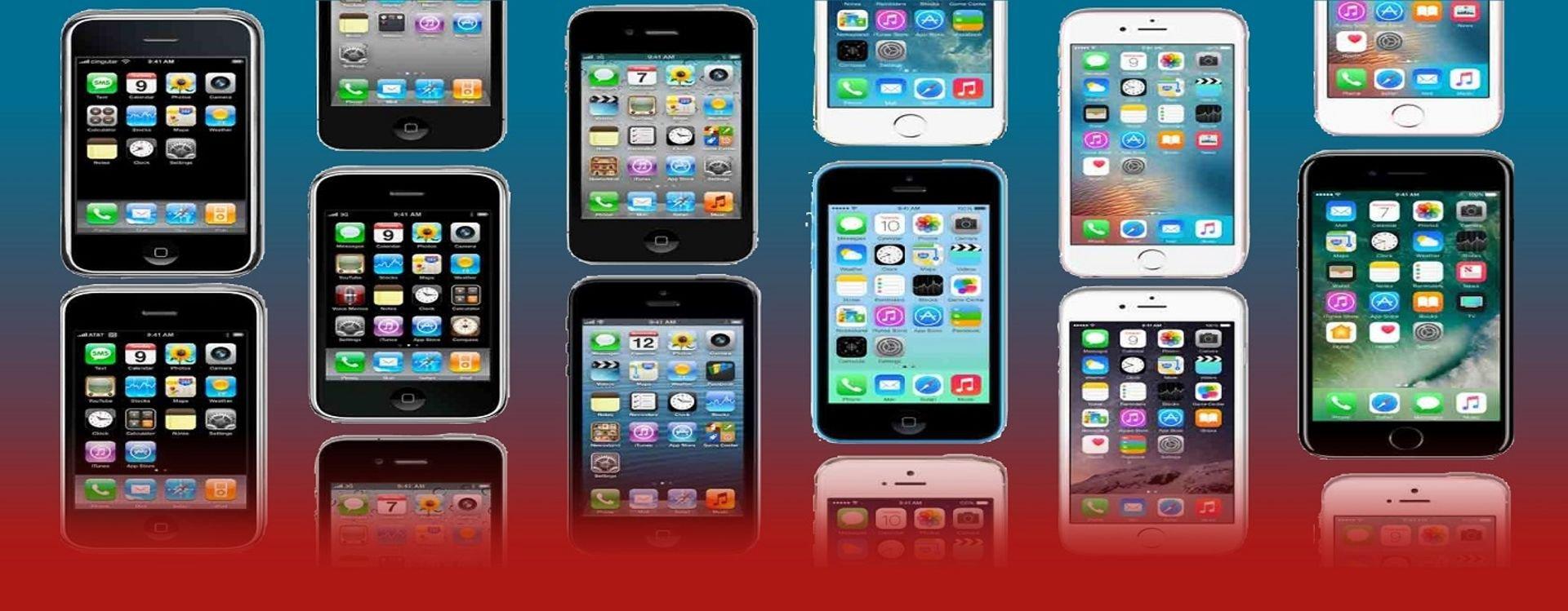 سنتابع عشر سنوات من التطور لهواتف أيفون منذ ظهورها حتى اللحظة