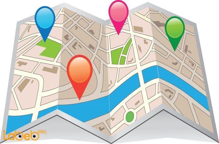 خريطة GPS