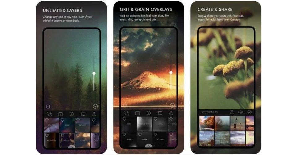 تطبيق ميكستشرز (Mextures) لتعديل الصور