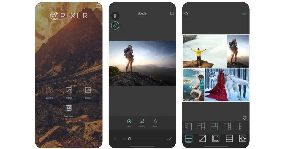 تطبيق بيكسلر (Pixlr) لتعديل وتجميع الصور