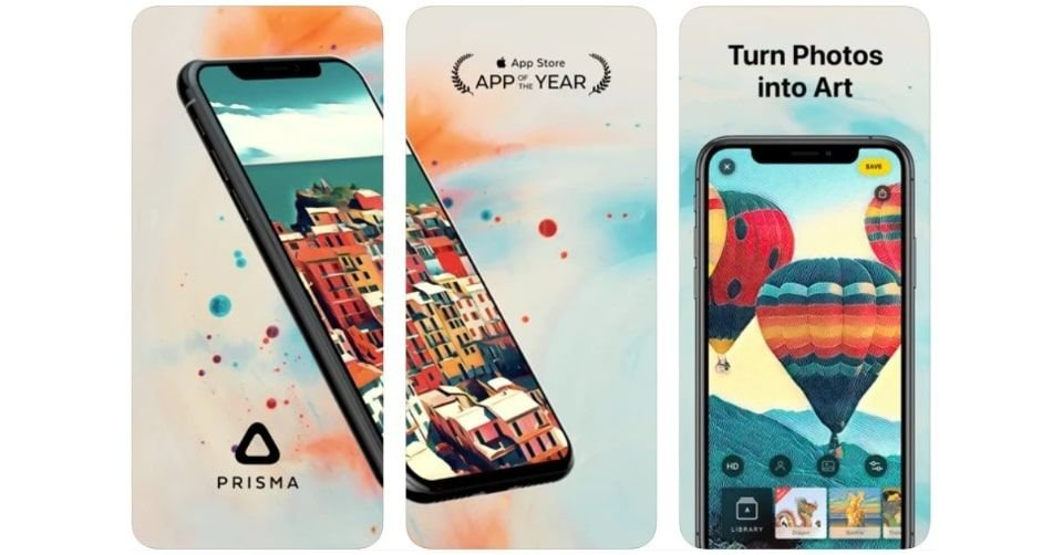تطبيق بريسما (Prisma) لفلاتر الصور الفنية