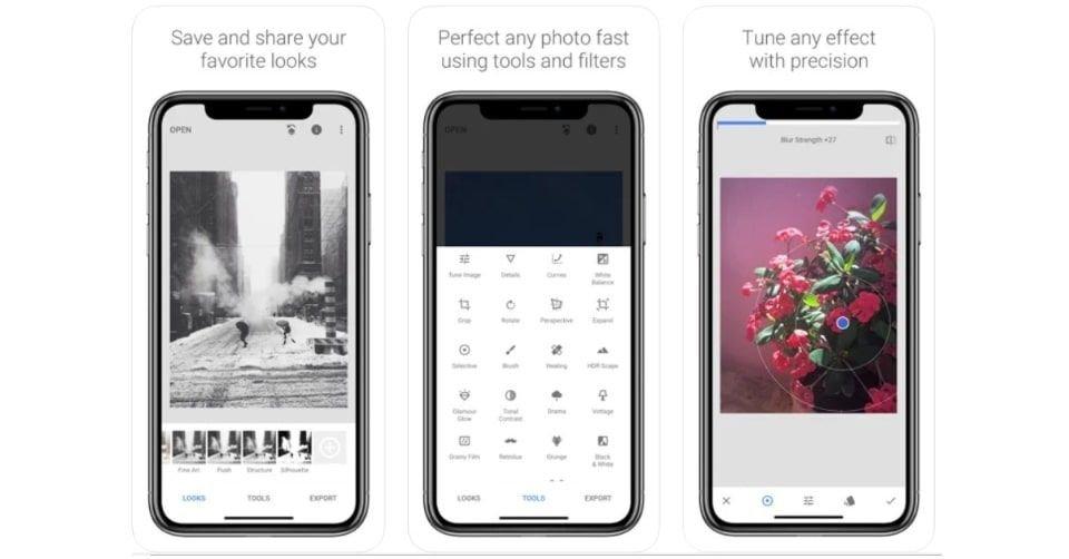 تطبيق سناب سيد (Snapseed) من جوجل