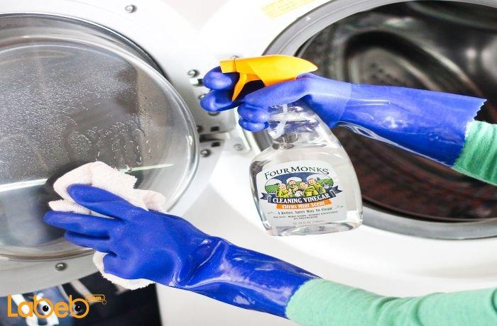 استخدام الخل الأبيض مع بيكربونات الصوديوم