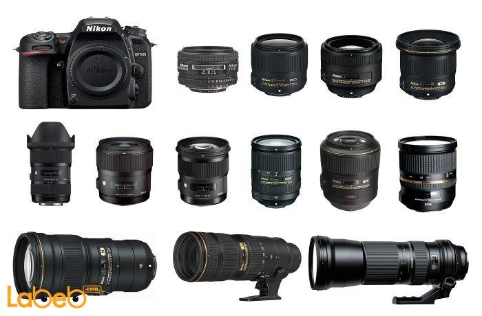 أفضل العدسات لكاميرا نيكون دي7500