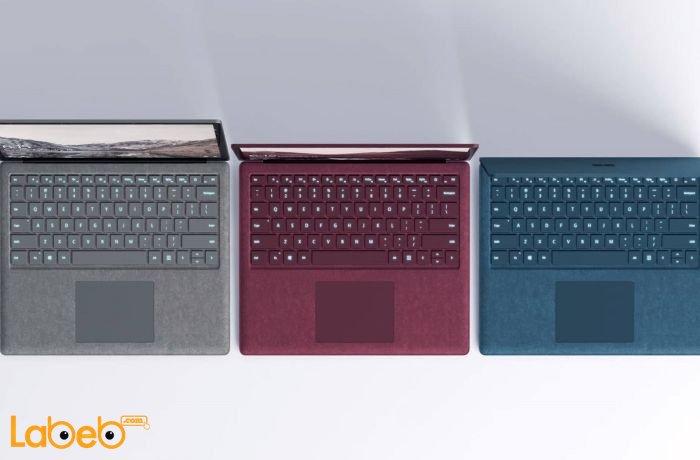 ألوان مايكروسوف سيرفس لابتوب