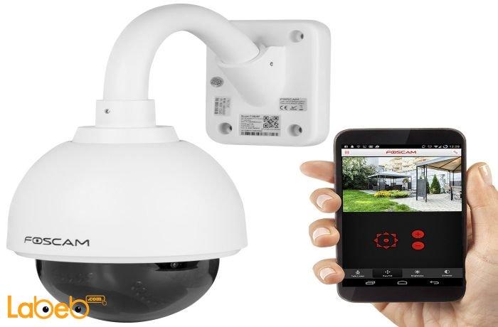 كاميرا مراقبة وهاتف