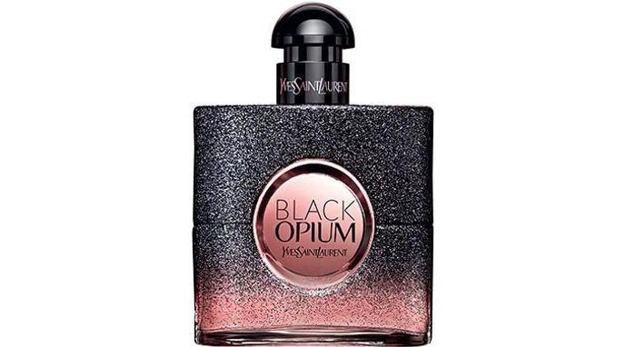 4c8f4c498 ... أجمل وأفضل العطور النسائية: عطر بلاك أبيوم الزهري (Black Opium Floral  Shock). صورة زجاجة عطر (Black Opieum) الوردي