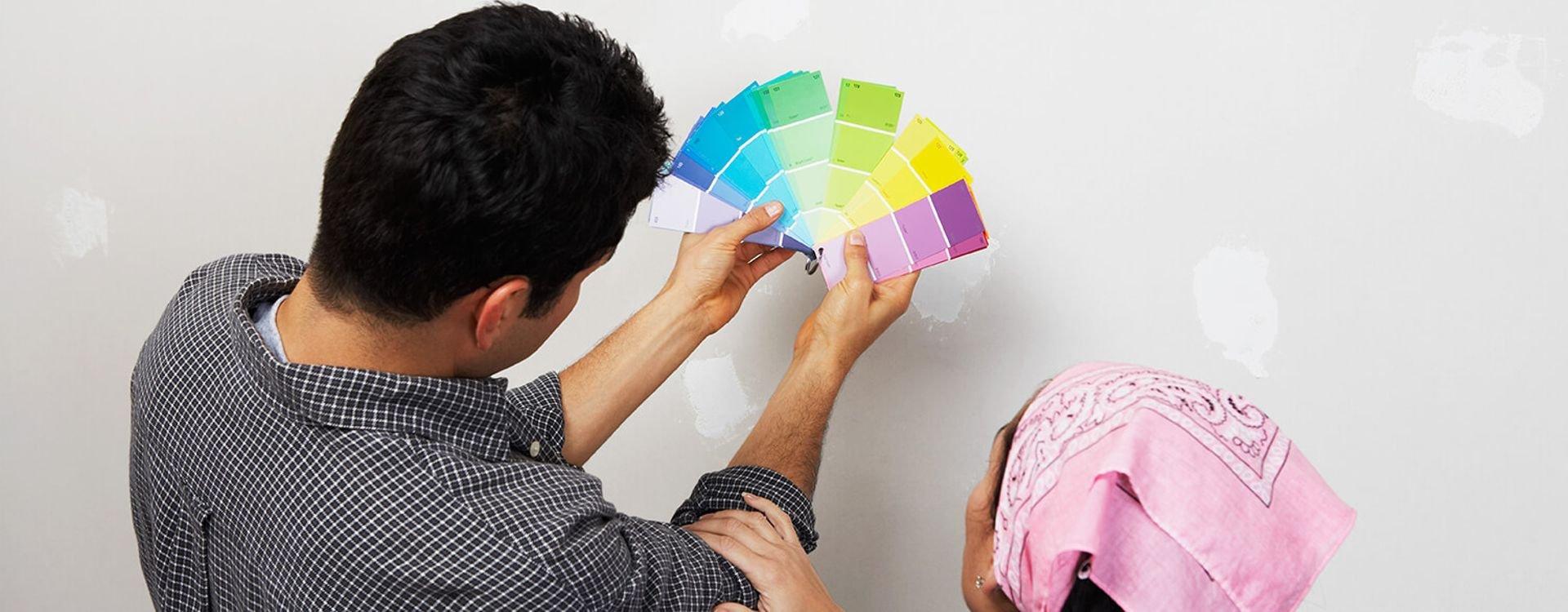 اختر لون ونوع دهان المنزل بعناية
