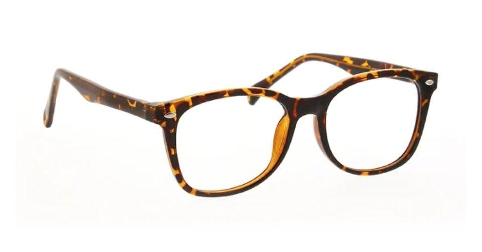 نظارة ذات أذرع مزخرفة