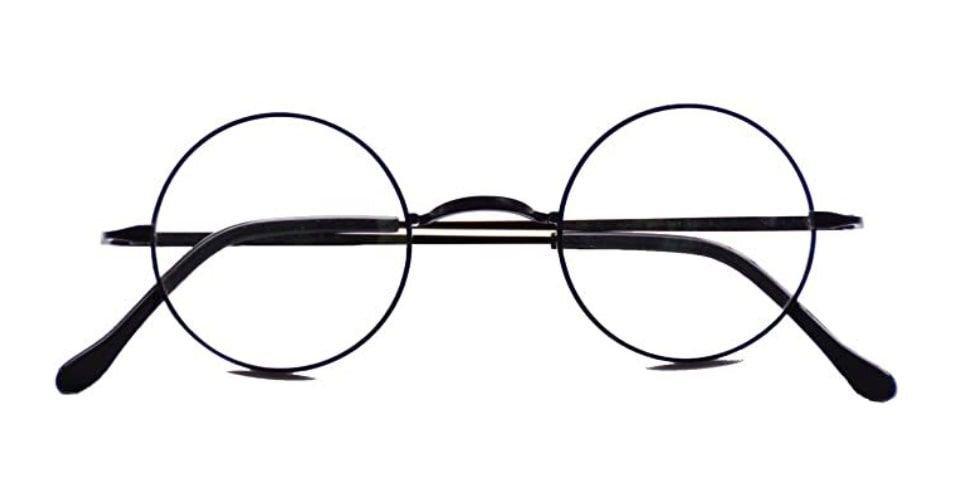 نظارة مستديرة