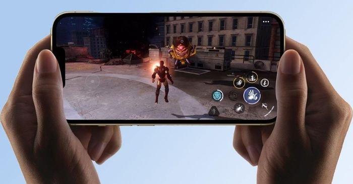 صورة أحد الألعاب على هاتف آبل آيفون 13 برو ماكس