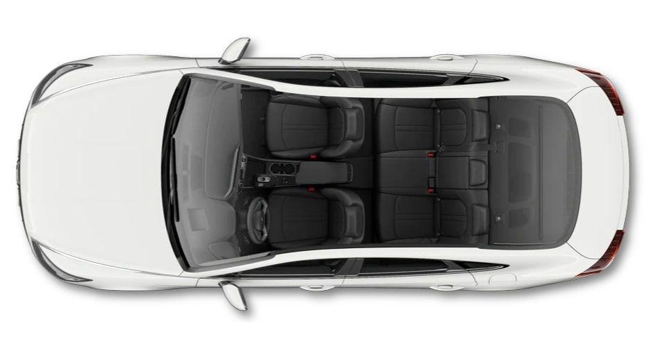 صورة التصميم الداخلي لسيارة هيونداي سوناتا 2022