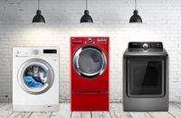 تنقسم نشافات الملابس بشكل رئيس إلى نشافات تعمل بالغاز وأخرى كهربائية.