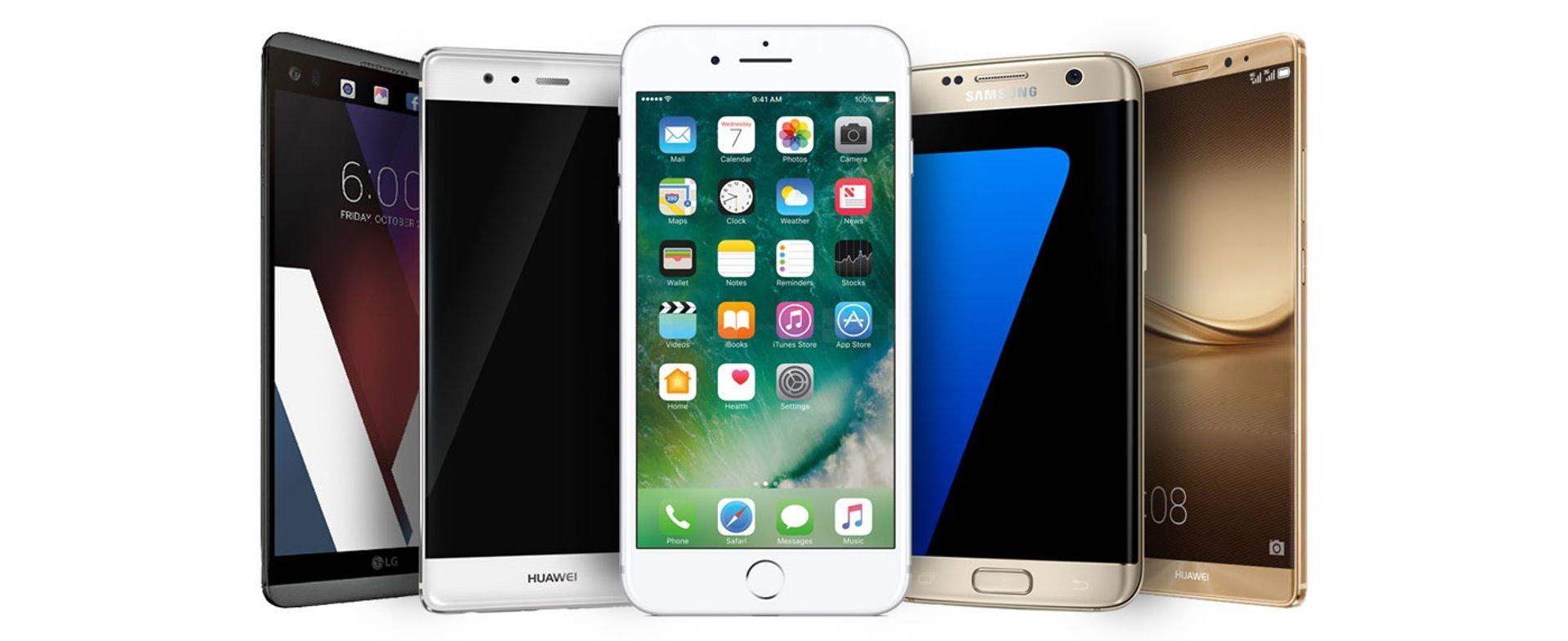 أفضل الهواتف الذكية لعام 2016