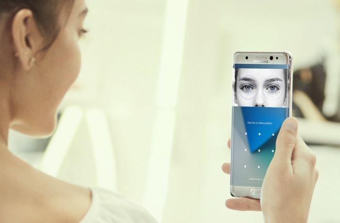 Samsung S8's iris recognition