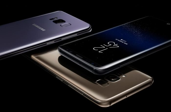 Samsung S8's colors