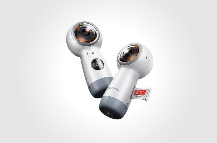 Samsung Gear 360 Camera Design 2017 model