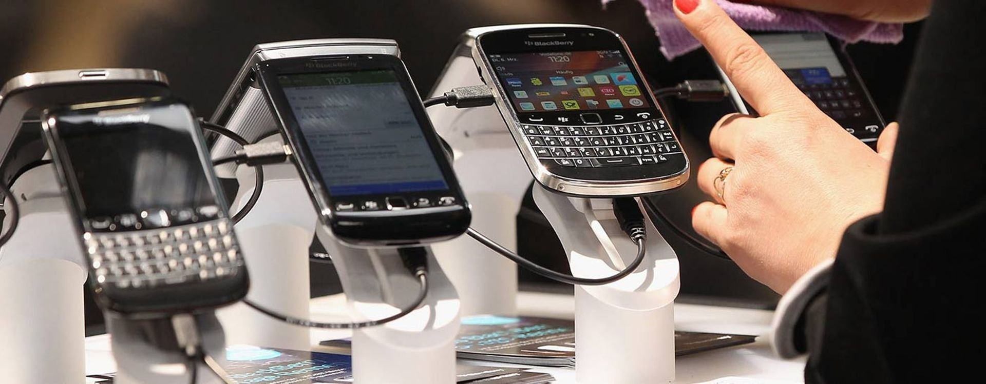 Did BlackBerry really stop manufacturing phones?