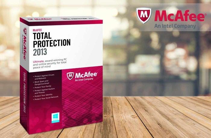 McAfee Antivirus 2013