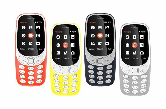 Nokia 3310 new colors