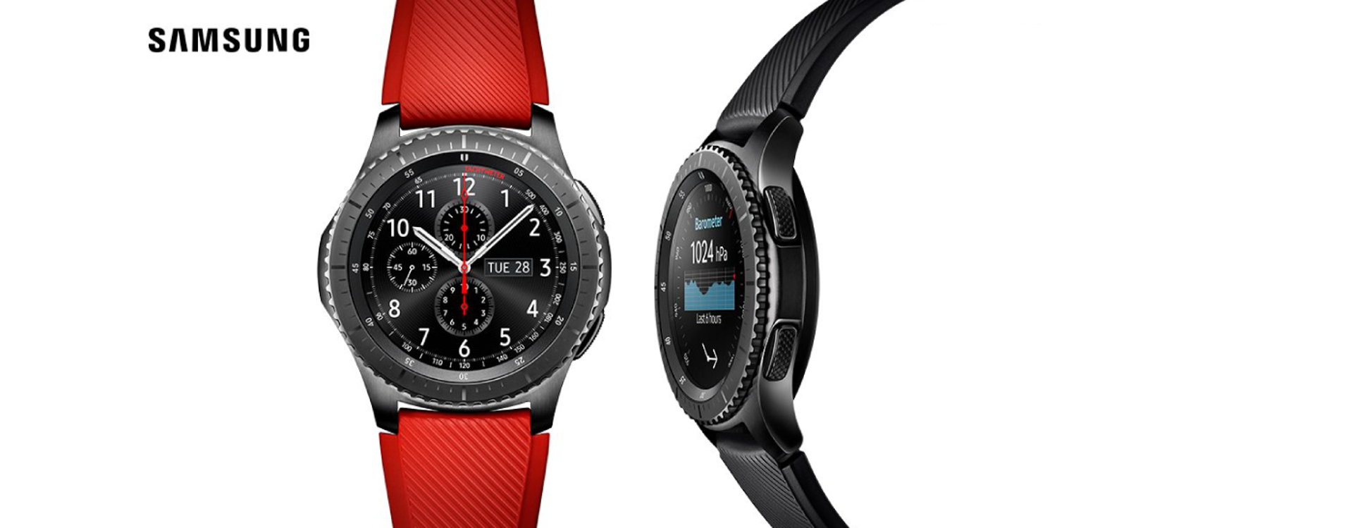 Samsung Gear S3 will be available in store in October 2016.