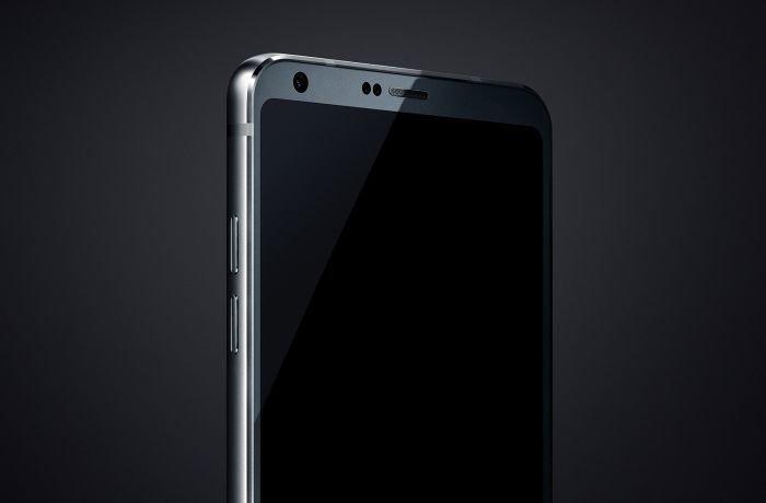 LG G6 front camera