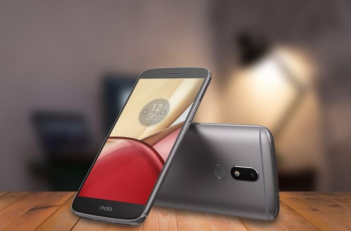 Motorola Moto M gray color