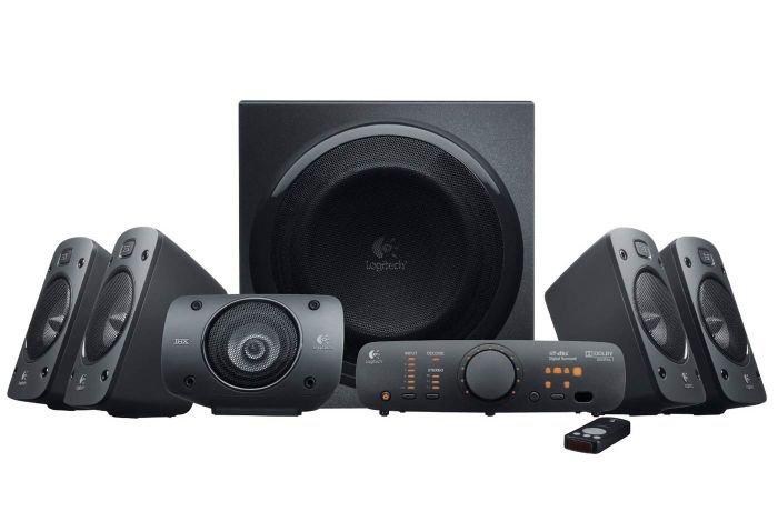 5.1 speakers and headphones