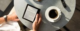 eBook readers are a unique invention, it is perfect for bookworms.