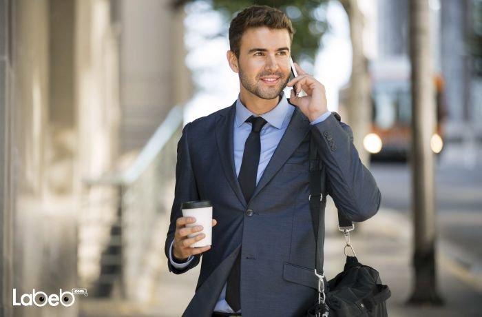 Businessman mobile