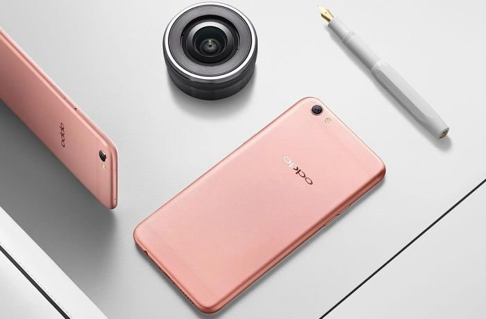 Pink Oppo F1s
