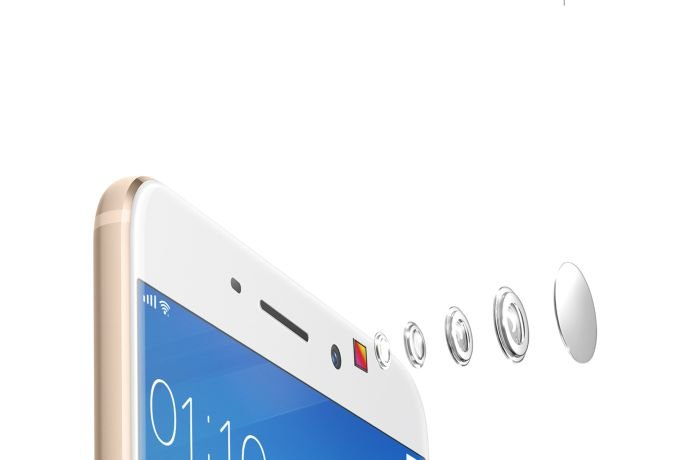 Oppo F1s Front Camera