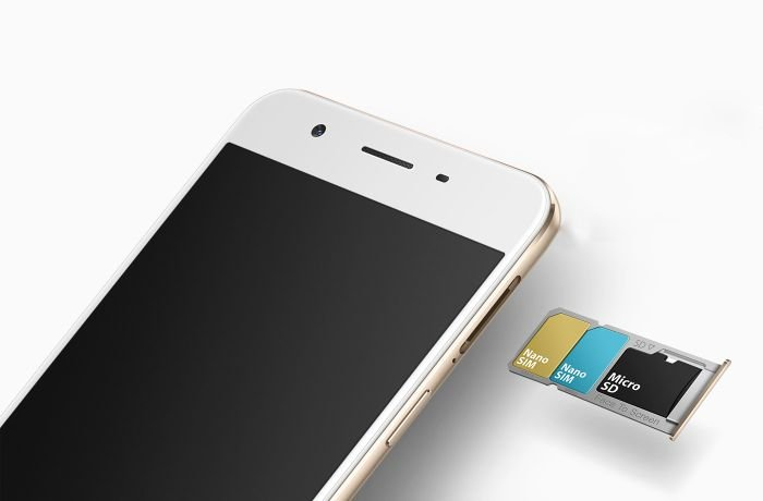 Oppo F1s Sim Cards Tray