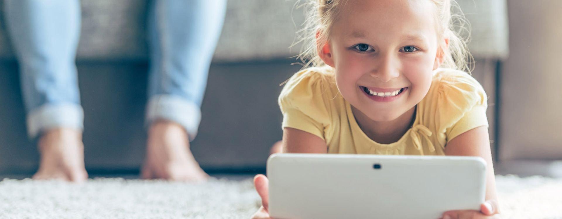 هل الأجهزة اللوحية مناسبة لاستخدام الأطفال؟