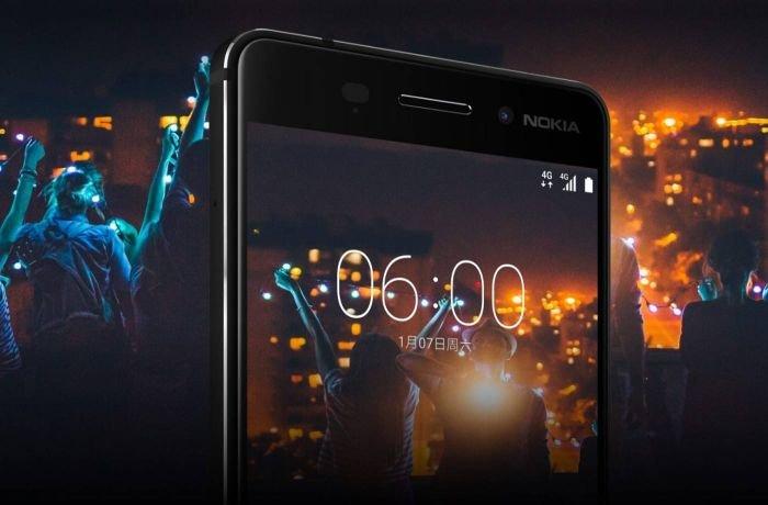 Nokia 6 Front Screen