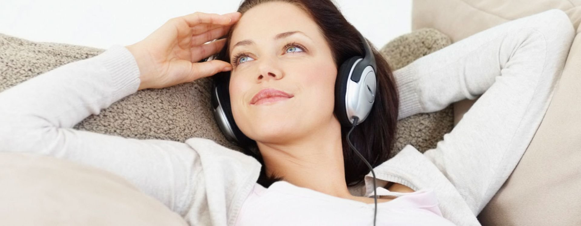 Studies show that using headphones can make you concentrate more, especially if you listen to relaxing music!