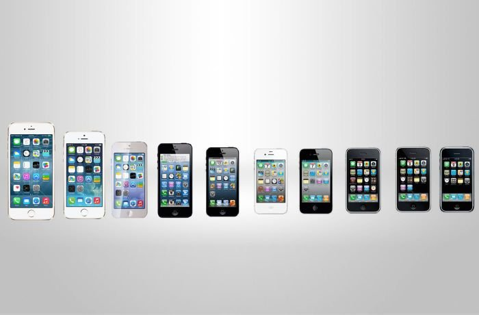 All iPhone releases