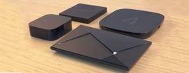 أجهزة بث الوسائط هي أجهزة رقمية توصل بشاشات التلفاز أو الشاشات الأخرى لعرض المحتوى الرقمي.