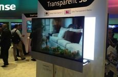 Panasonic will release their Transparent TV in 2018