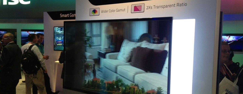 شاشات التلفاز الشفافة تبصر النور خلال العام 2018.