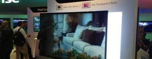 شاشات التلفاز الشفافة، تبصر النور في العام 2018