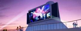 أعلنت سامسونج في شهر آذار/مارس من العام 2017، في فندق وكازينو أورلينز في مدينة لاس فيغاس الأمريكية عن شاشتها العملاقة سينما سكرين.